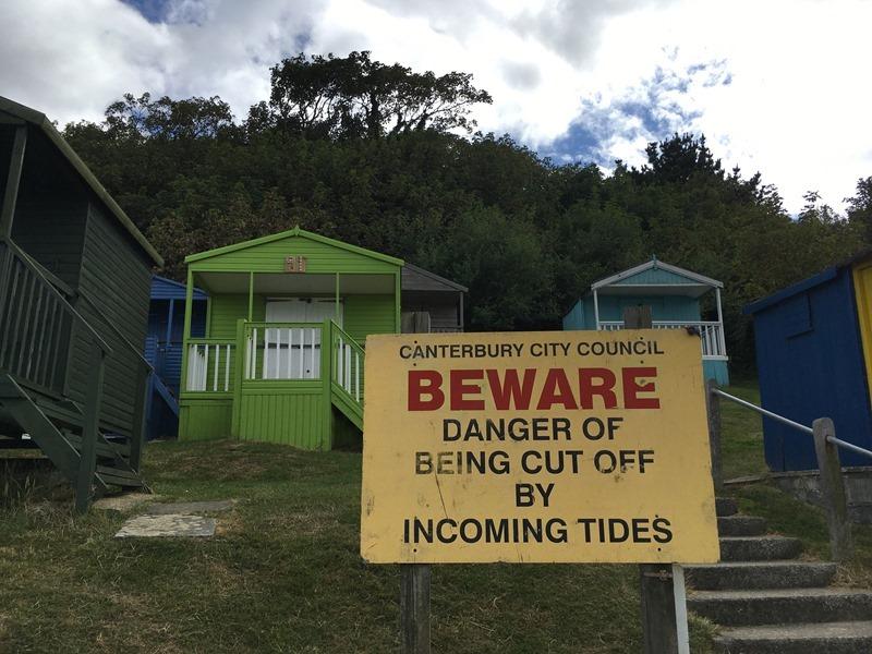 Beware, Tankerton Beach