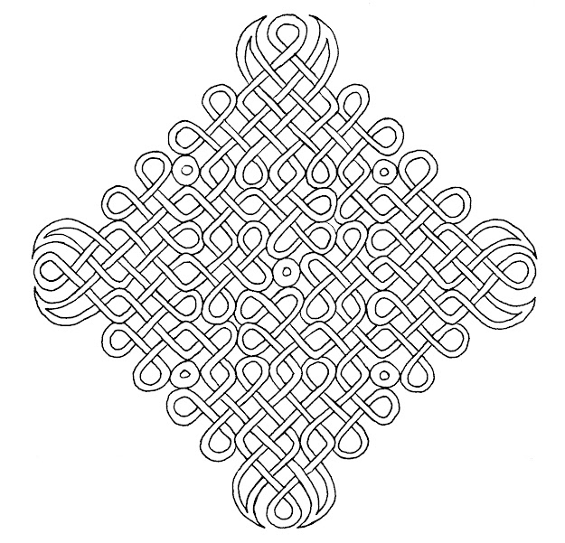 Celtic Love Knot Coloring Page Pages Ideas