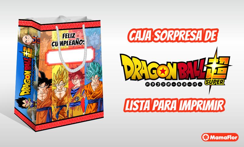 Dragon Ball Super: Bolsa Sorpresa para Imprimir