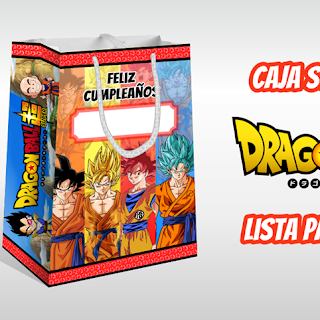 Dragon Ball Super: Bolsa Sorpresa para Imprimir