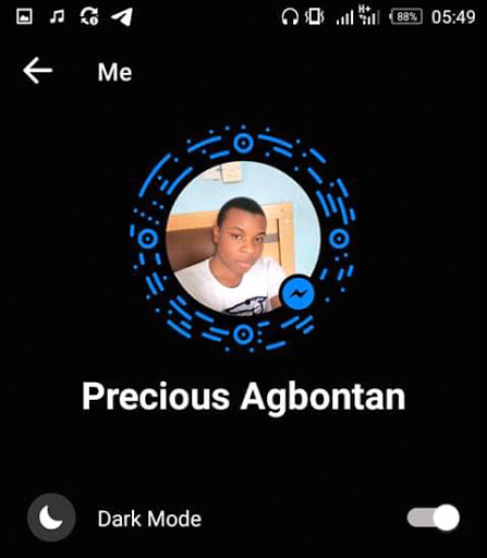 How To Activate Dark Mode On Facebook Messenger Using An Emoji