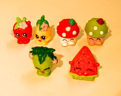 Shopkins - Serie 1: Fruta e Legumes