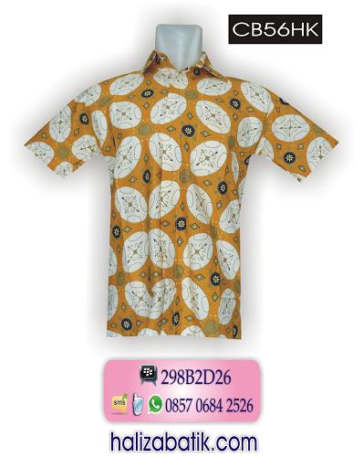 CB56HK Baju Batik Murah, Model Batik Kerja, Butik Batik Online, CB56HK