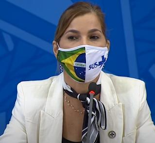 Mayra Pinheiro aciona STF contra a CPI da Covid por vazamento ilegal de dados