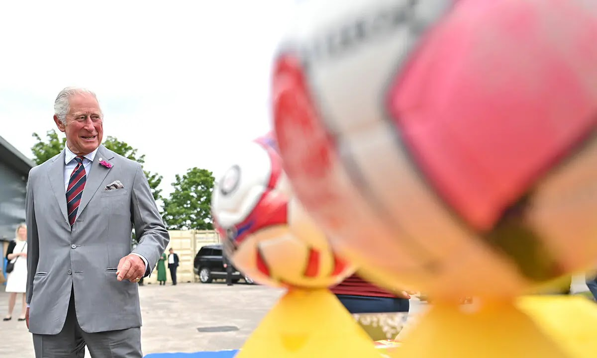 Prince Charles backs England to Win for Euros 2020