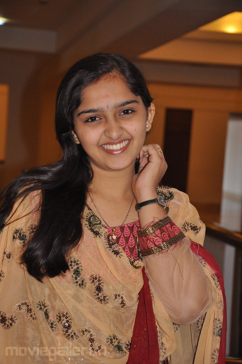 Actress Sanusha Cute Pics  Eththan Movie Press Meet