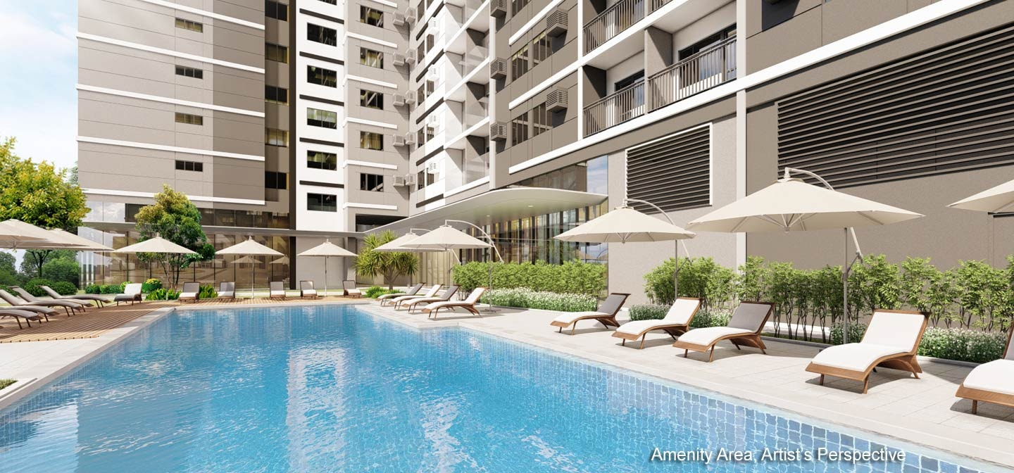 Gold Residences, Paranaque pool