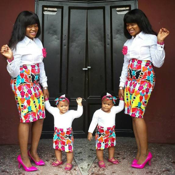 Fabulous Hot Styles For Mother And Child (Daughter) 4