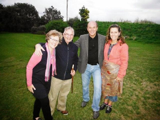 Jenny & John Hornblow, Wiremu Te Awe Awe & Linda McCarthy