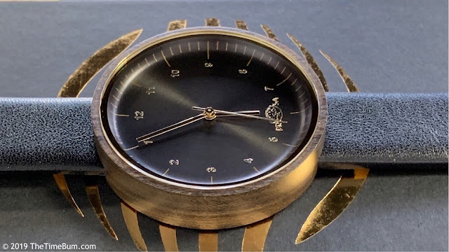 Prosawood Venus watch side
