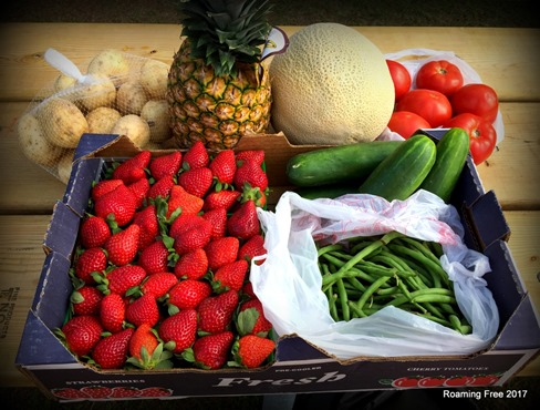 Fresh Produce - $17.50!