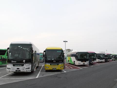 西鉄高速バス「ライオンズエクスプレス」 8545 海老名SAにて その2