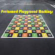Preformed Playground Markings