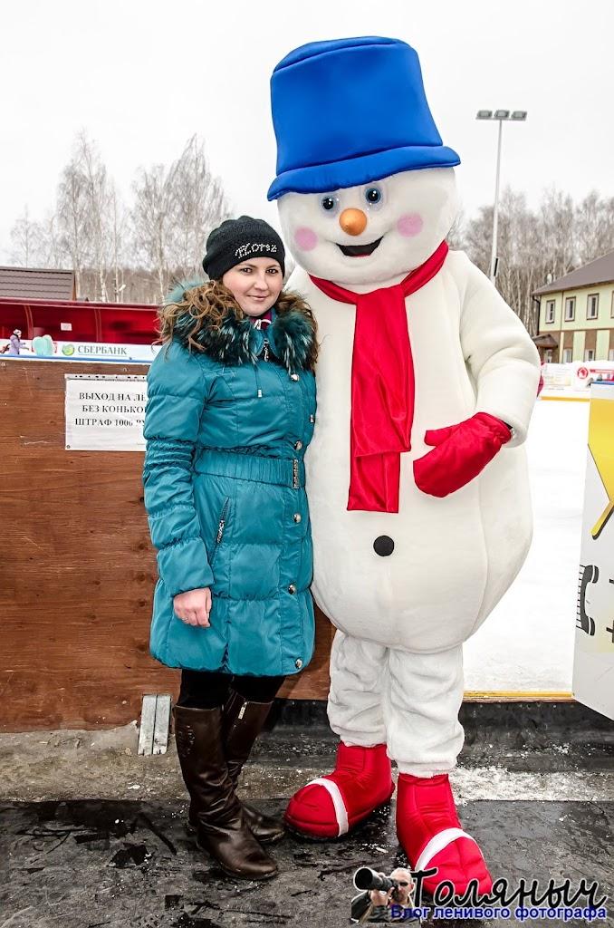Желающих сфотографироваться со Снеговиком было много