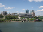Downtown Knoxville from the Henley street bridge