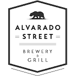 Logo of Alvarado Street Brewery Blue 'N Gold