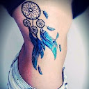 dreamcatcher tattoos on side 8