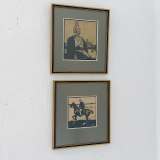 Sir William Nicholson Lithograph Pair