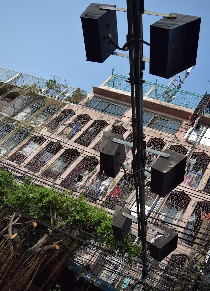exotic street scenes in BKK