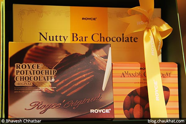 Chocolate Boxes at ROYCE' [Phoenix Market City, Pune, India]