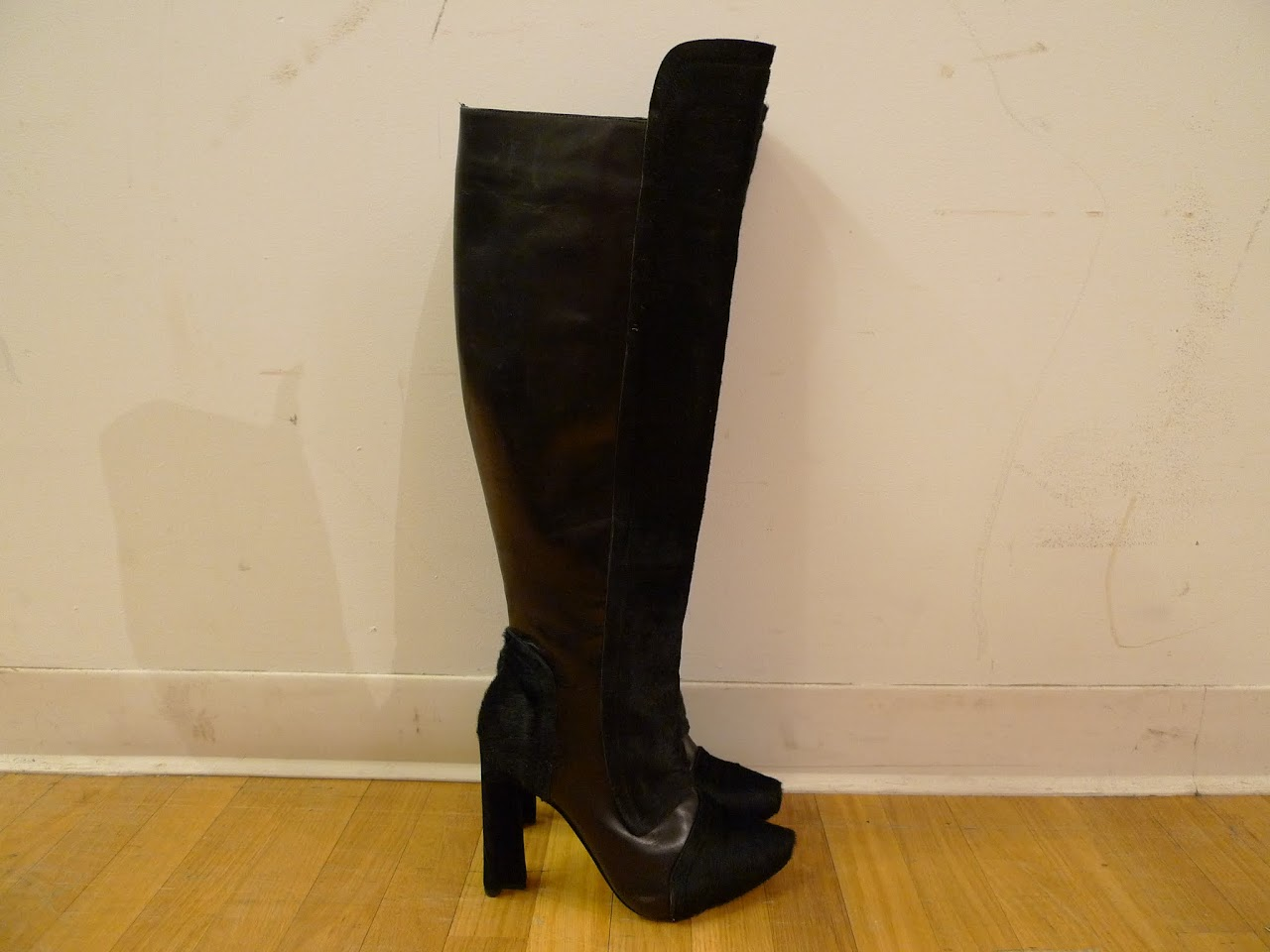Maiyet Pony Hair Knee High Boots