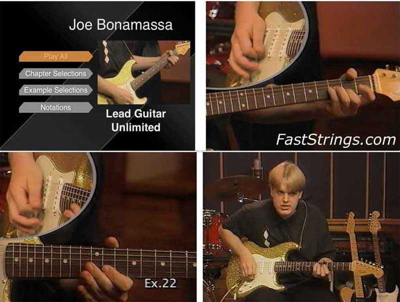 Joe Bonamassa - Lead Guitar Unlimited