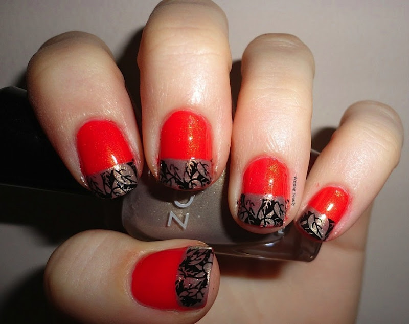 Fall French Manicure 1