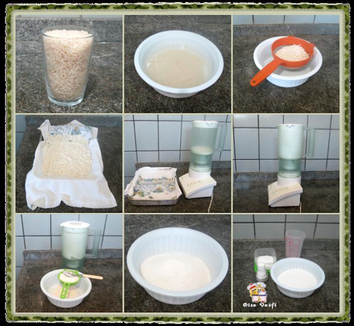 Cuscuz de arroz 4