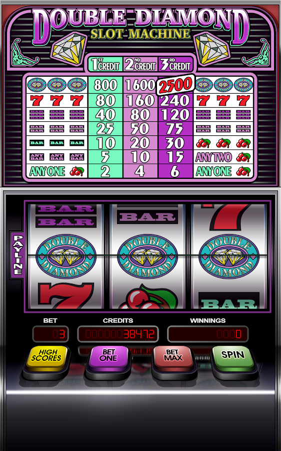 double diamond deluxe slot machine app