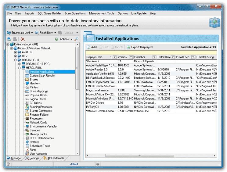 EMCO Network Inventory Enterprise 5.8.20.9981