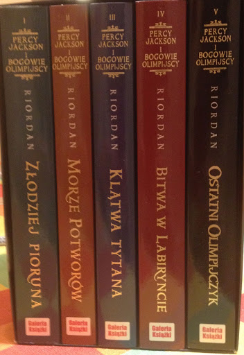 Percy Jackson - cała seria