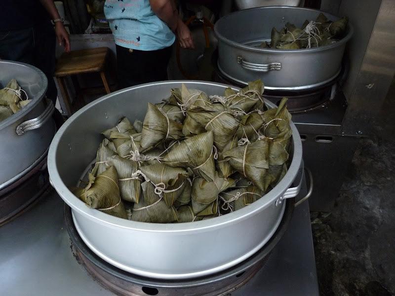 zongzi, for dragon festival