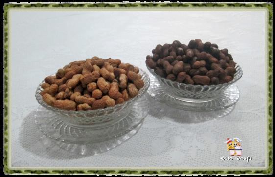 Amendoim cozido x amendoim torrado 1