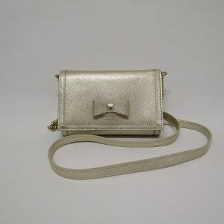 Kate Spade Metallic Crossbody Micro Bag
