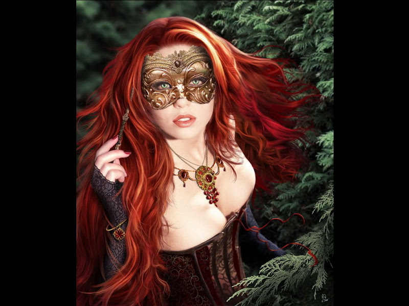 Red Princess In A Mask, Magic Beauties 1