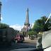 Empiezan traslado réplica torre Eiffel
