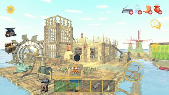 Imagini pentru MOD Raft Survival: Multiplayer