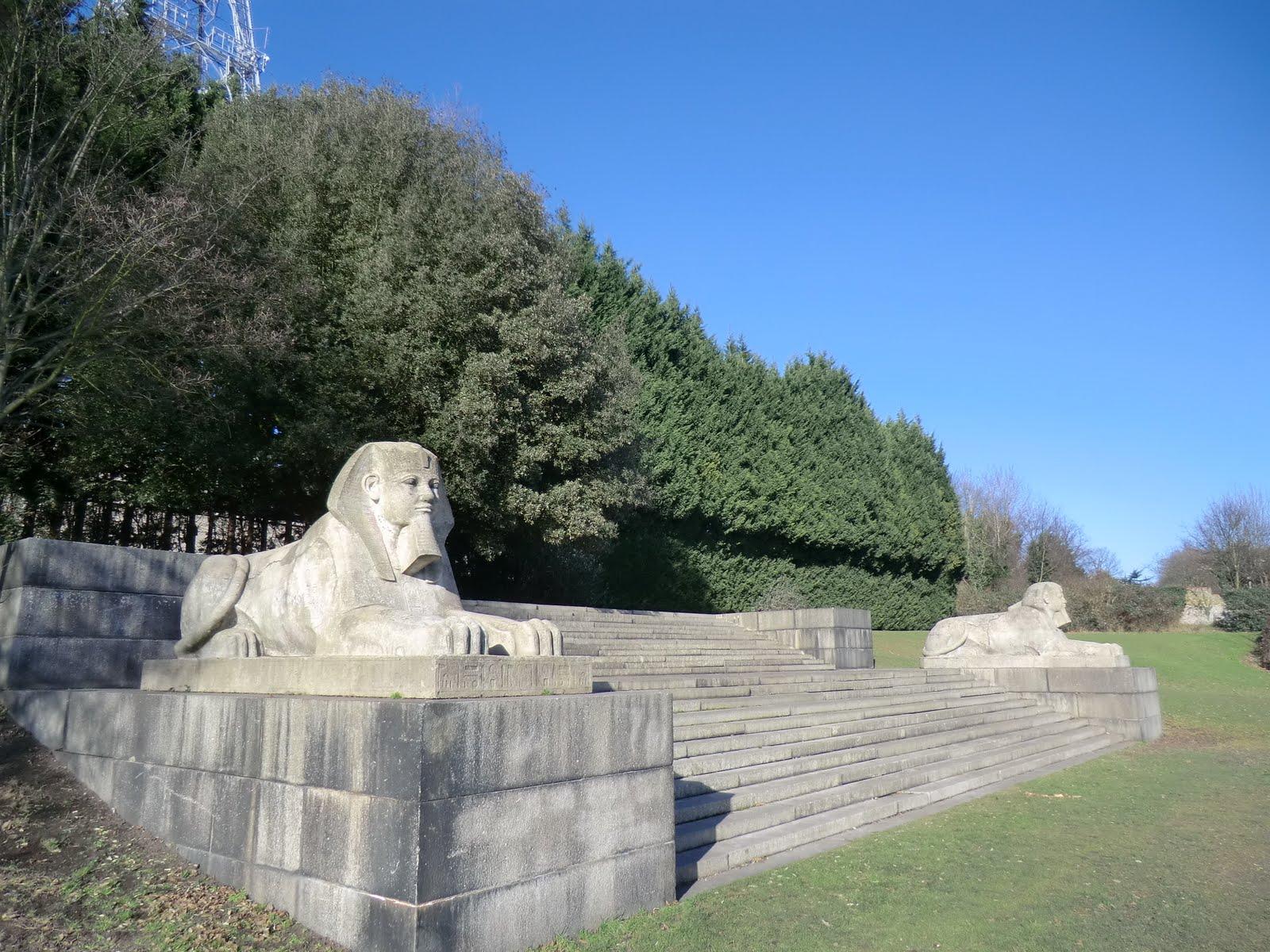 CIMG1546 Sphinx, Crystal Palace Park