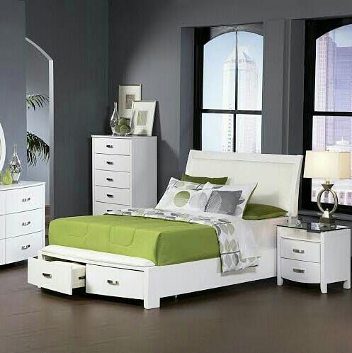 Duco White Bedroom Set