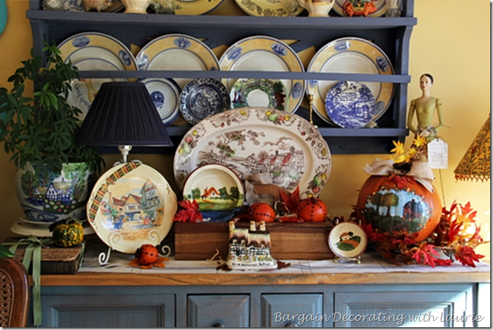 Fall Cottages Vignette