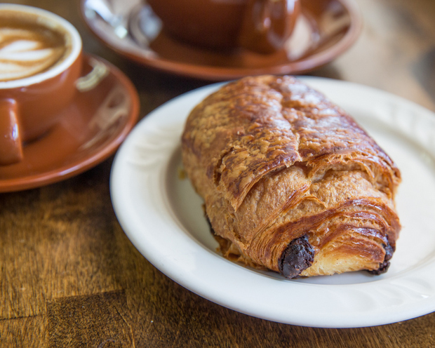 photo of a Chocolate Croissant