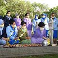 Jelang HUT Ke-57, Ketum Dharma Pertiwi Ziarah ke TMPNU Kalibata