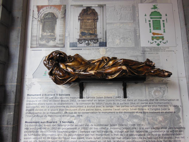 Estatua de bronce en honor a Everad´t Serclaes