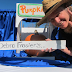 Author/illustrator Debra Frasier has fun with a box, some fabric, a pumpkin, and lots of imagination.