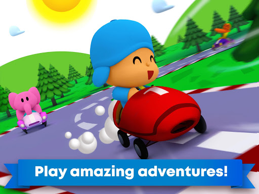 Pocoyo Racing: Kids Car Race - Fast 3D Adventure 1.0.0 screenshots 8