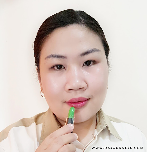 [Review] Fran Wilson MOODmatcher 12 Hour Lip Color in Black and Green