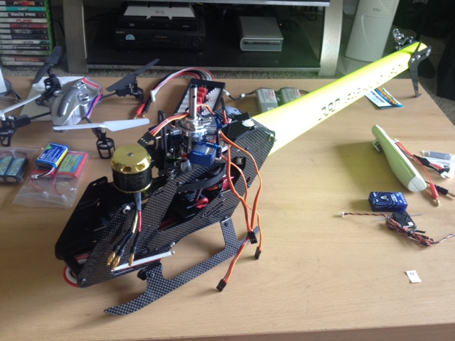 Learning to Fly an RC Helicopter: September 2015
