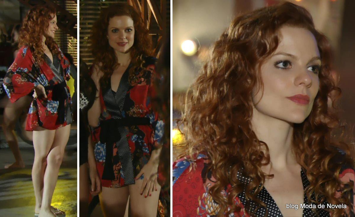 moda da novela Em Família - look da Vanessa dia 26 de maio