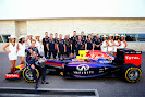 Sebastian Vettel, Red Bull Racing team and grid girls