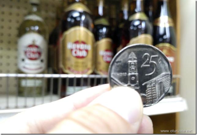 Куба. 25 конвертируемых центов